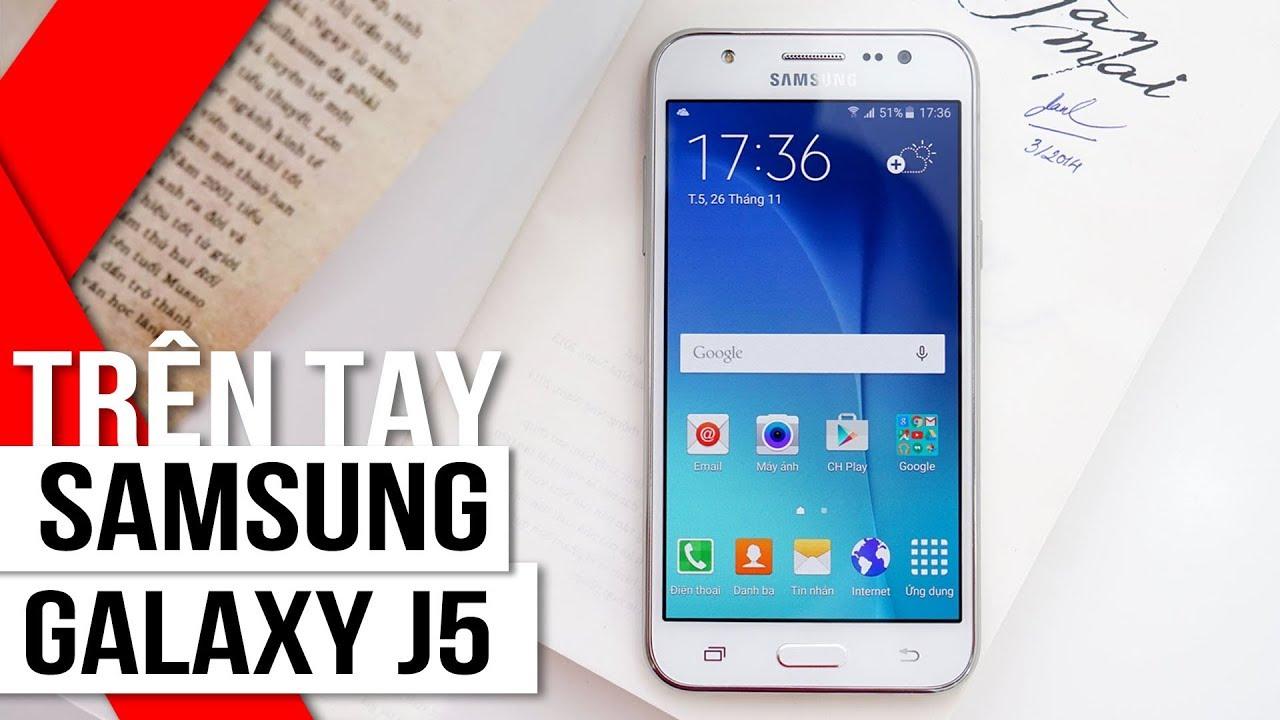 FPT Shop – Trên tay Samsung Galaxy J5: màn hình Super AMOLED, camera selfie 5MP