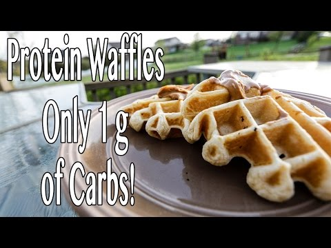 3-ingredient-protein-waffles:-only-1-gram-of-carbs!