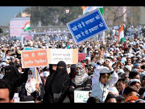 Muslim Reservation Full Firing Speech In Aurangabad Part 01