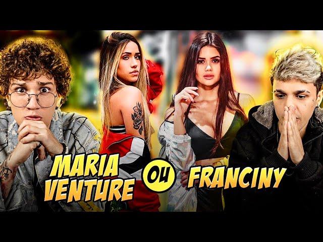 MARIA VENTURE OU FRANCINY EHLKE? (ft. Gregory Kessey)