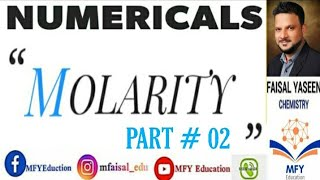 Gambar cover MOLARITY NUMERICAL (PART # 02)
