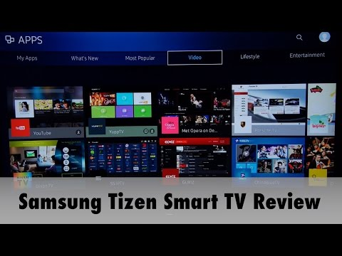 Samsung 2016 Tizen Smart TV System Review