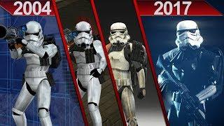 Evolution of Battlefront | FULL COMPARISON | PC | 2004 - 2017