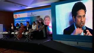 LIVE & Excl: Sachin @ The International Day Of The Girl Child UNICEF Function | Sports Tak
