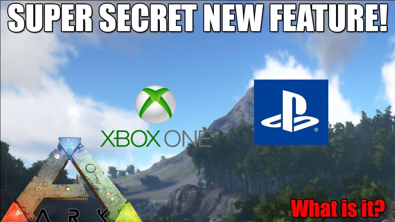 ARK: SUPER SECRET FEATURE REVEALED?! - UPDATE - XBOX/PS4 - (v750/v504) -  Ark: Survival Evolved