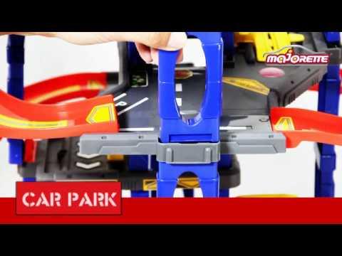 Parking Garaż Dickie Majorette Youtube