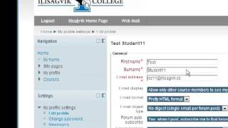 Modifying Your Email Address in MyCampus