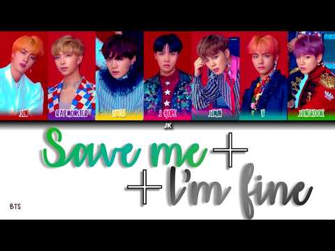 BTS (방탄소년단) 'Save Me+I'm Fine' (Color Coded Lyrics) [HAN_ROM_ENG]