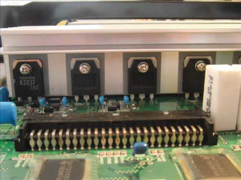 Replacing the Y Sustain board on a 50inch plasma tv Moviewmv  YouTube
