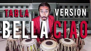 BELLA CIAO   MONEY HEIST   Tabla Cover   Karan Chitra Deshmukh