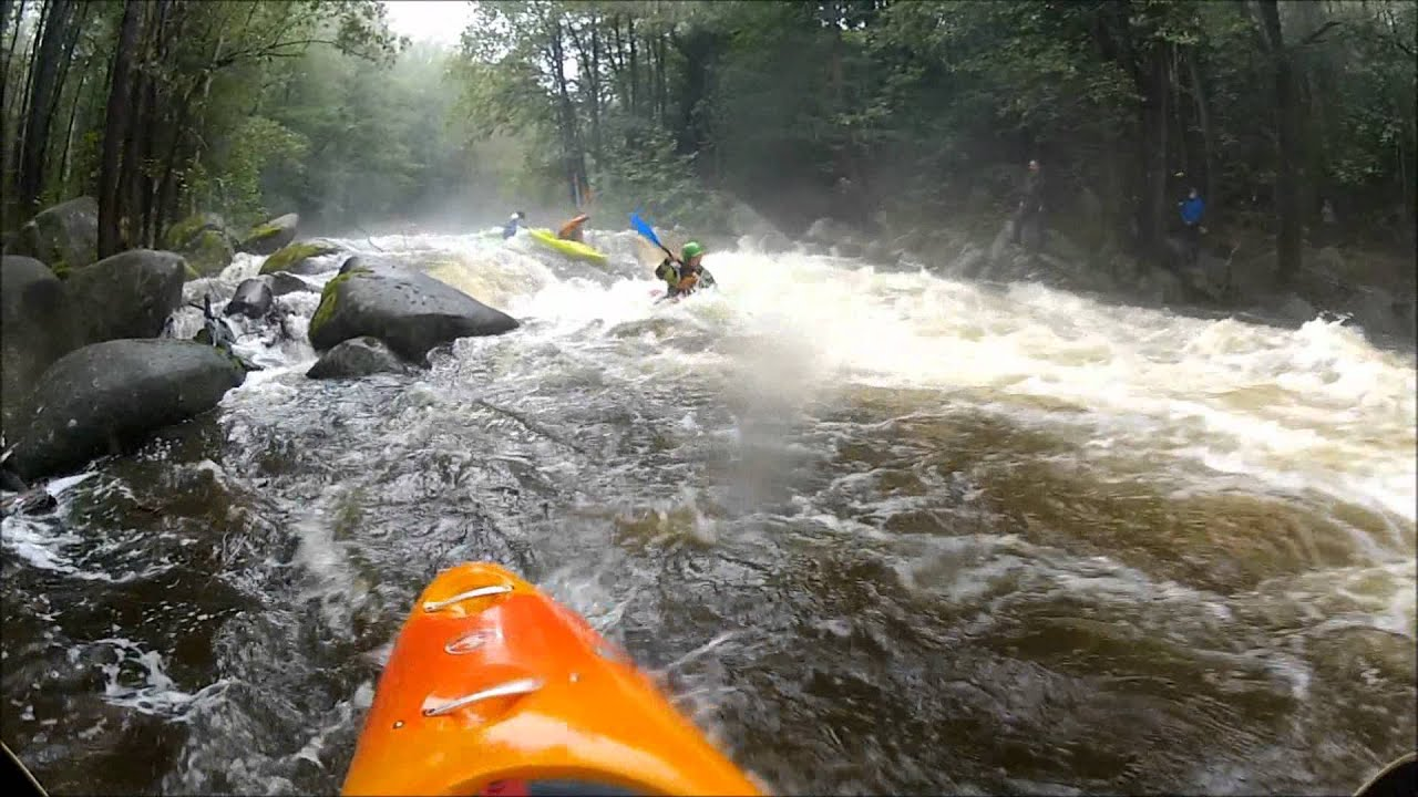 Lipno 2012 Whitewater Kayaking GoPro HD Hero 2