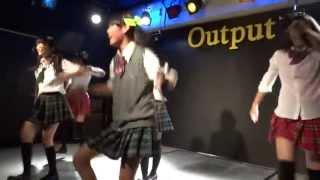 2013/06/25 那覇Output デモサヨナラ (Dorothy Little Happy) 伊敷 梨乃...