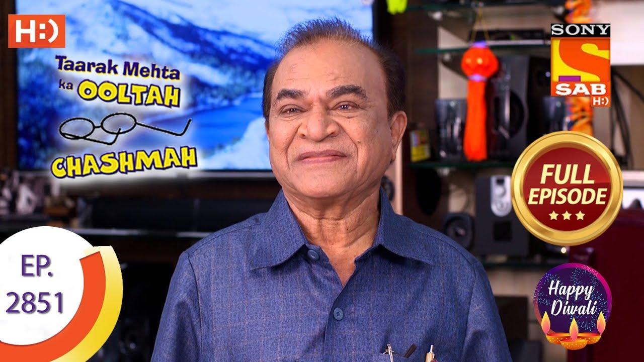 Taarak Mehta Ka Ooltah Chashmah Ep 2851 Full Episode 30th October 2019