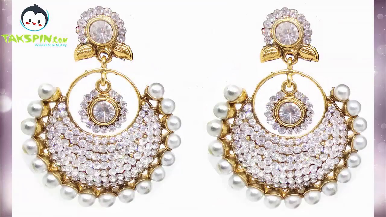 Takspin Latest Earring Collection Indian Bridal Jhumiki Earrings Bollywood Style 2017 You