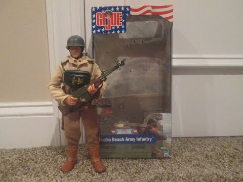 GI Joe 2001 Omaha Beach Army Infantry (D-Day Collection) Review
