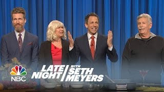 Seth Gives Thanks - Late Night with Seth Meyers