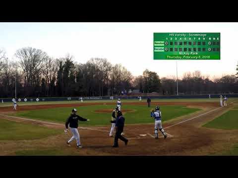 Newton County vs Decatur Varsity - Scrimmage - February 8, 2018