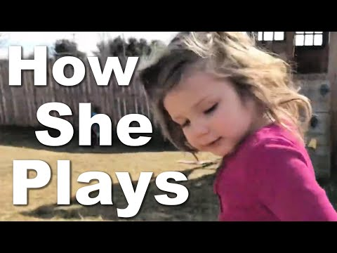 How Does Our Autistic  3 1/2 years Old Play?