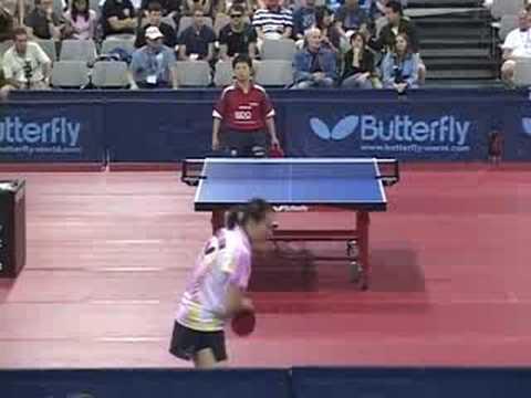 2008 US Open - Gao Jun vs. Ni Xia Lian - game 1