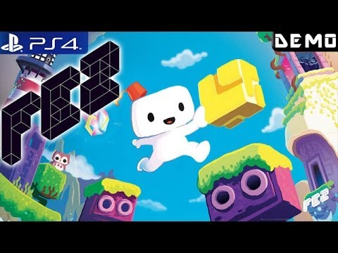 FEZ - Gameplay PS4 Demo 1080p (PS4 Demos)