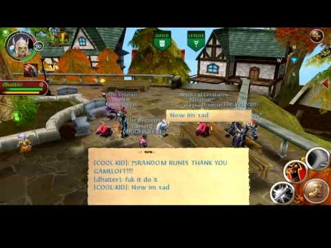 Order And Chaos Online:FREE RUNES! GOLDEN CHESTx2