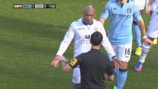 Yaya Touré vs Michael Brown Funny Incident