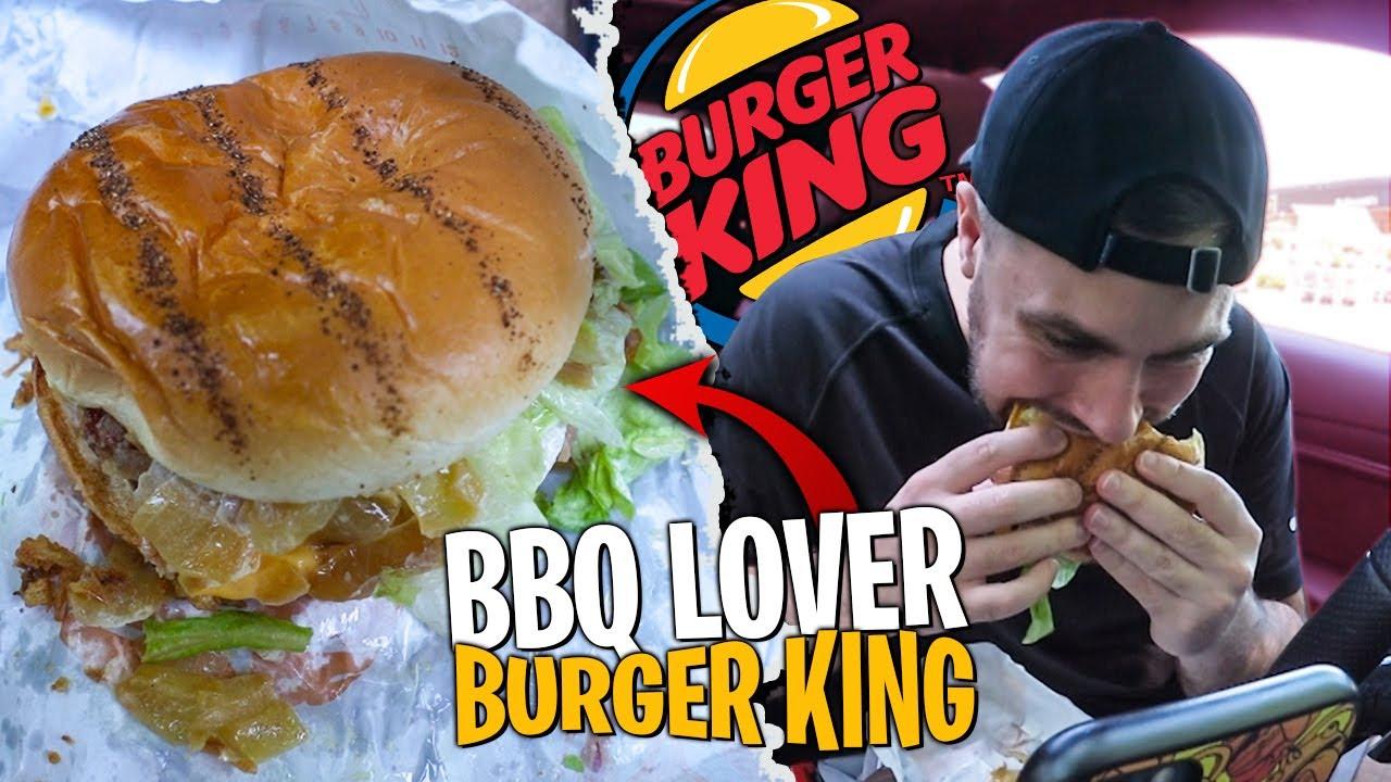 Je compare le BBQ Lover au Poulet vs au Boeuf de Burger King ! (vraiment pas mal)