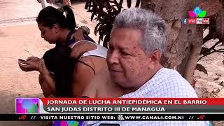 Nicaragua: Jornada de lucha antiepidémica en el barrio San Judas del distrito III de Managua