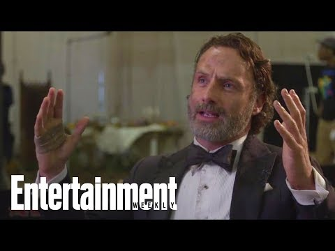 Andrew Lincoln: Jon Bernthal Was Terrified On First Day Of 'The Walking Dead' | Entertainment Weekly streaming vf