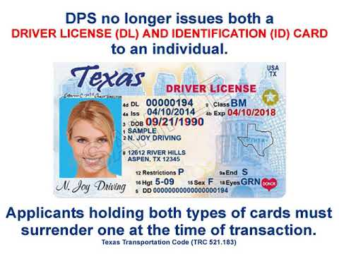 Youtube - Or Dl Office Texas License Driver Id Card
