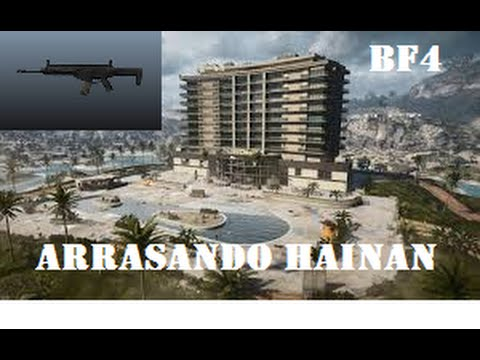 LIVE BATTLEFIELD 4 - AR-160,REVENTANDO HAINAN - GAMEPLAY TCT -HD