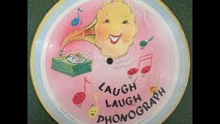 "Bob Kennedy ""Laugh Laugh Phonograph"" 1948 Voco., Inc. Picture Disc 78 Record"