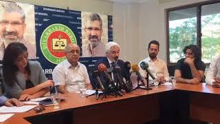 """Avukatları: """"Demirtaş, şüphelisi dahi olmadığı bir soruşturma dosyasından tekrar tutuklandı"""""""