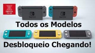 Jailbreak Nintendo Switch Todos os Modelos Anunciado!