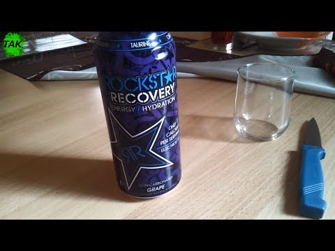 Let´s Drink: Rockstar Recovery Grape (USA)(10kcal)