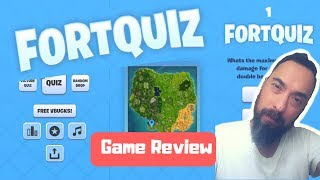 FORTNITE QUIZ - Buildbox Game Review 279 - DO YOU FORTNITE