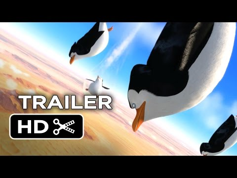 Penguins of Madagascar Official Trailer #2 (2014) Benedict Cumberbatch Movie HD