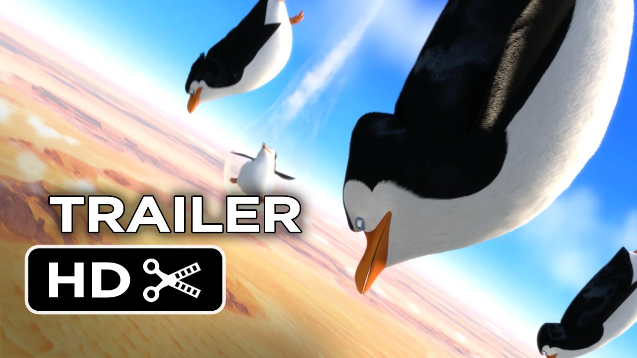 penguins of madagascar official trailer #2 (2014) benedict