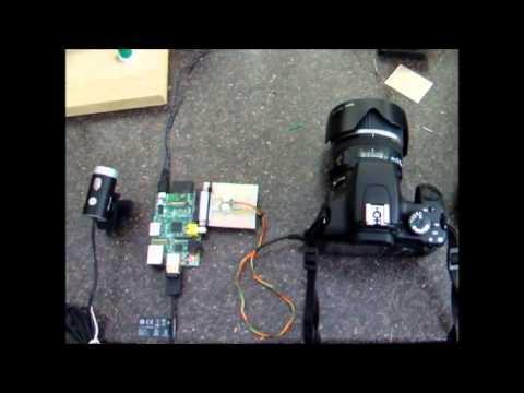Raspberry Pi parking camera with distance sensor | FunnyCat TV