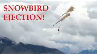 Snowbirds CL41 Tutor Crash 17 May 2020