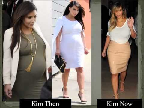 KIM KARDASHIAN: THEN  NOW 3 Months After Giving Birth  YouTube