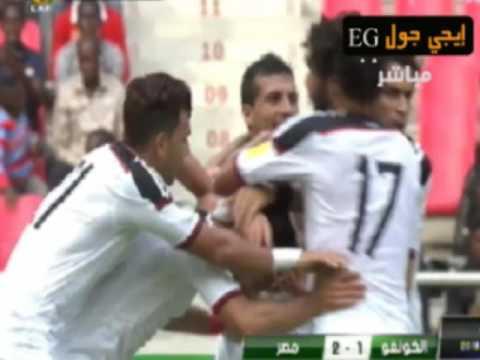 ملخص و اهداف مباراة مصر والكونجو 2-1|تصفيات كأس العالم