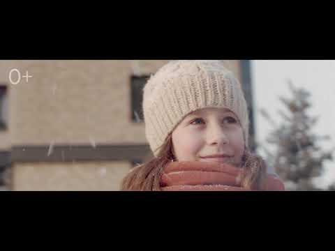 Зима в SCANDIS. Природные дворы в новостройках Красноярска