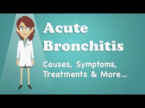 Acute Bronchitis - Causes, Symptoms, Treatments & More…