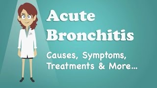 Acute Bronchitis - Causes, Symptoms, Treatments & More…
