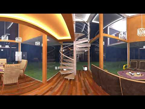 Virtual reality interior model - my project