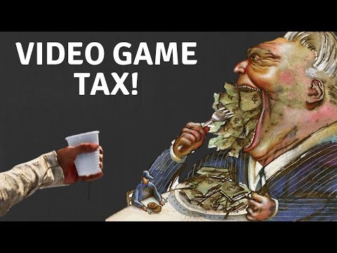 9% Video Game Tax Starts In 5 Days