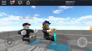 Playing Titanic on Roblox