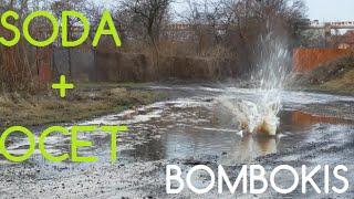Jak zrobić bombę z sody i octu - bombokis