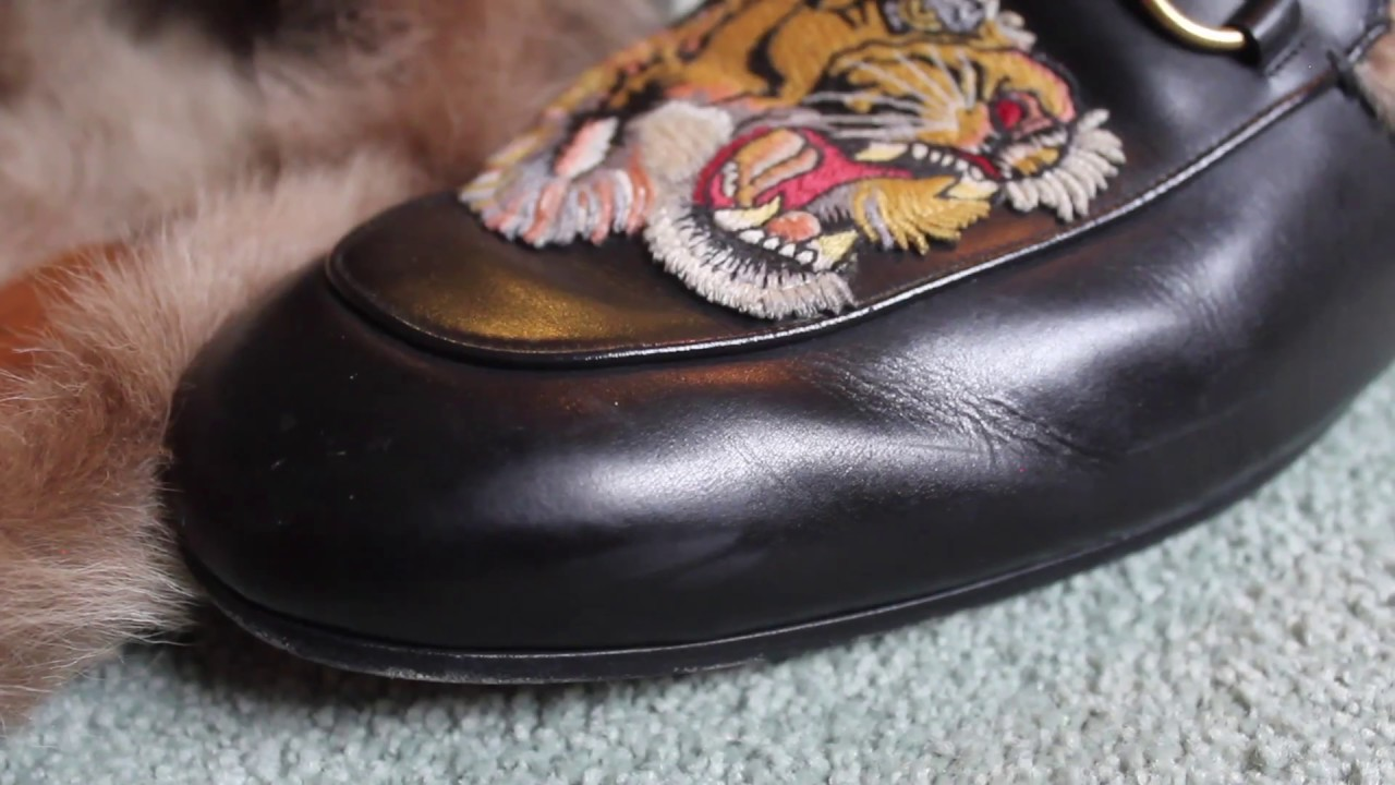 49d283710 A Review of My Gucci Princetown Loafers - YouTube